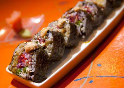 Sushi de pulpo
