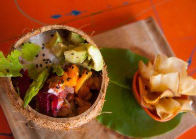 Ceviche pargo caribeño